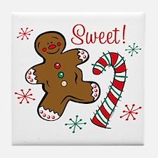 Christmas Sweet Tile Coaster