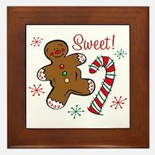 Christmas Sweet Framed Tile