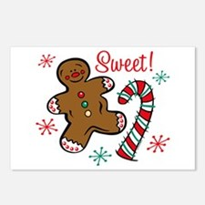 Christmas Sweet Postcards (Package of 8)