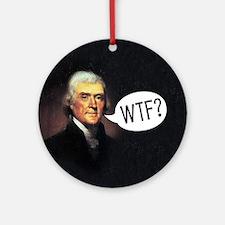 Jefferson - WTF Ornament (Round)