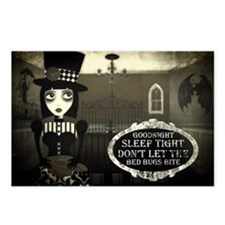 Cute Gothic girls Postcards (Package of 8)