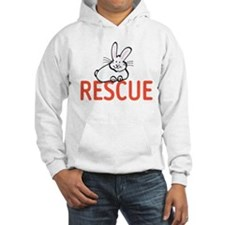 cute bunny RESCUE Jumper Hoody