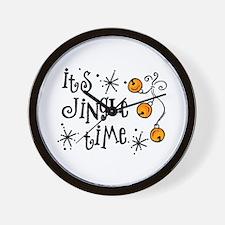 Jingle Time Wall Clock
