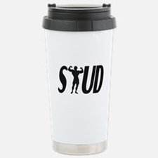 Stud Muscles Stainless Steel Travel Mug
