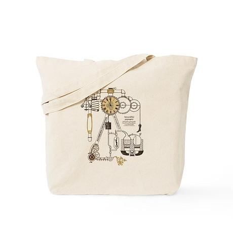 Steampunk Contraption Tote Bag
