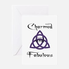 Charmed and Fabulous Triquetr Greeting Card