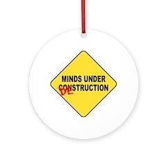 Mind Destruction Ornament (Round)