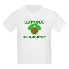 Diamonds Beat Clubs T-Shirt