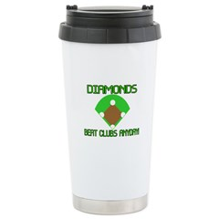 Diamonds Beat Clubs Travel Mug