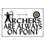 Archers On Point Banner