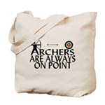 Archers On Point Tote Bag