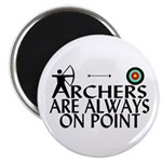 Archers On Point Magnet
