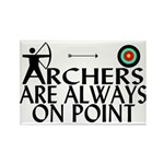 Archers On Point Rectangle Magnet (100 pack)