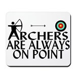Archers On Point Mousepad