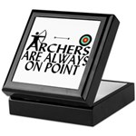 Archers On Point Keepsake Box