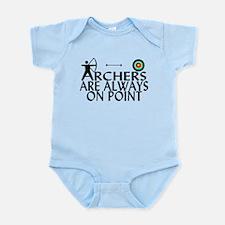 Archers On Point Infant Bodysuit