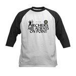 Archers On Point Kids Baseball Jersey