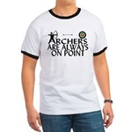 Archers On Point Ringer T