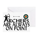 Archers On Point Greeting Cards (Pk of 10)