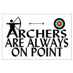 Archers On Point Large Poster