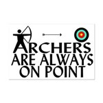 Archers On Point Mini Poster Print