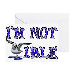 I'm Not Gullible Greeting Cards (Pk of 20)