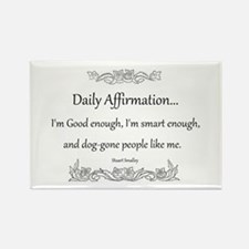 Daily Affirmation Rectangle Magnet