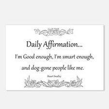 Daily Affirmation Postcards (Package of 8)
