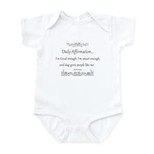 Daily Affirmation Infant Bodysuit