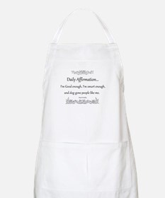 Daily Affirmation Apron