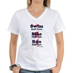 Team Rosenberg Women's V-Neck T-Shirt
