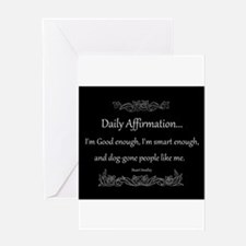 Daily Affirmation Greeting Card