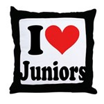 I Heart Juniors: Throw Pillow