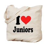 I Heart Juniors: Tote Bag