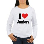 I Heart Juniors: Women's Long Sleeve T-Shirt