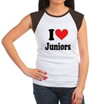 I Heart Juniors: Women's Cap Sleeve T-Shirt
