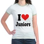 I Heart Juniors: Jr. Ringer T-Shirt