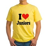 I Heart Juniors: Yellow T-Shirt