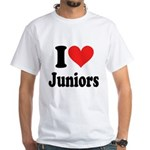I Heart Juniors: White T-Shirt