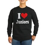 I Heart Juniors: Long Sleeve Dark T-Shirt