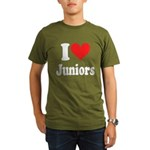 I Heart Juniors: Organic Men's T-Shirt (dark)