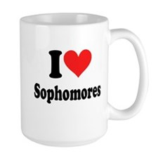I Heart Sophomores Mug