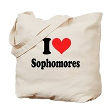 I Heart Sophomores Tote Bag
