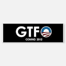GTFO Bumper Bumper Bumper Sticker