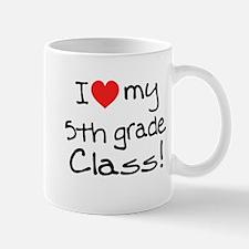 5th Grade Class: Mug