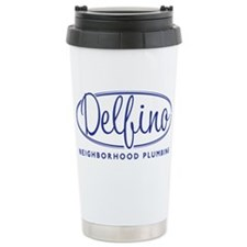 Delfino Plumbing Travel Mug