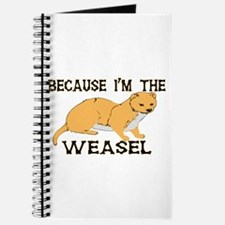 Because I'm The Weasel Journal