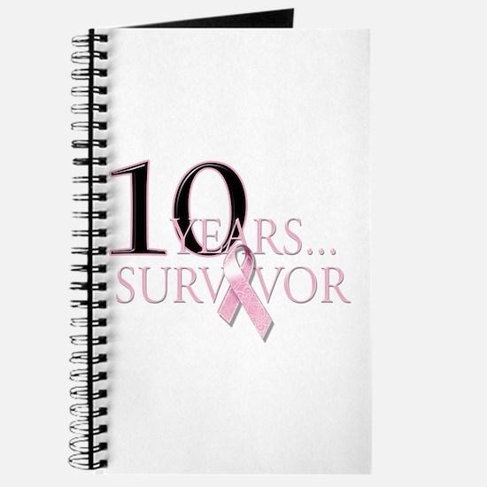 10 Years Breast Cancer Survivor Journal