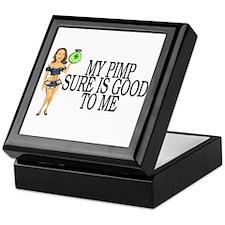 My Pimp Keepsake Box