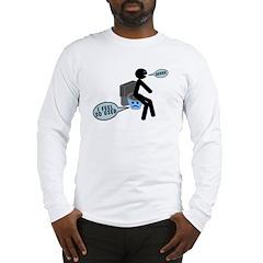 Used Toilet Long Sleeve T-Shirt